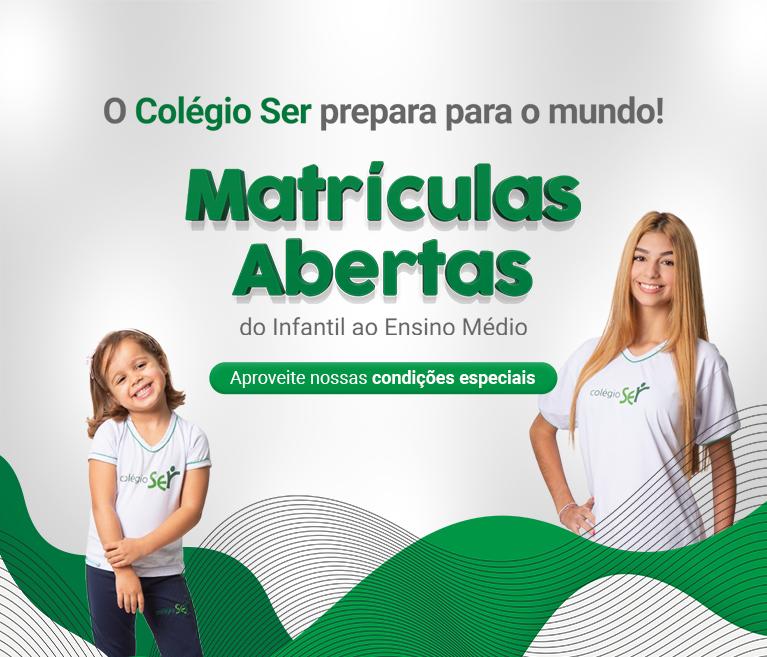 Banner Matrículas Meio de Ano